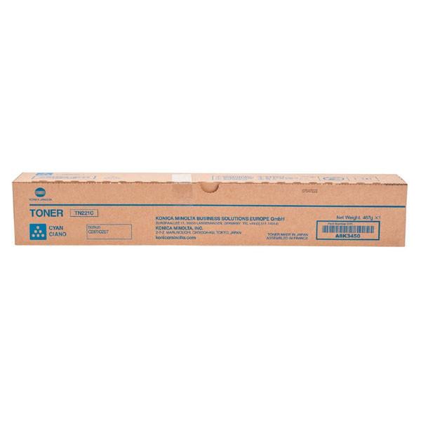 wklad laserowy konica minolta tn 221c a8k3450 cyan oryginalny 51e