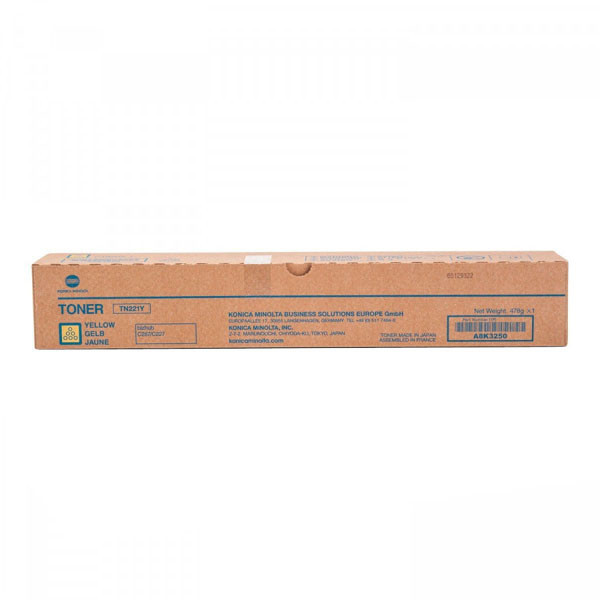 wklad laserowy konica minolta tn 221y a8k3250 yellow oryginalny 35d