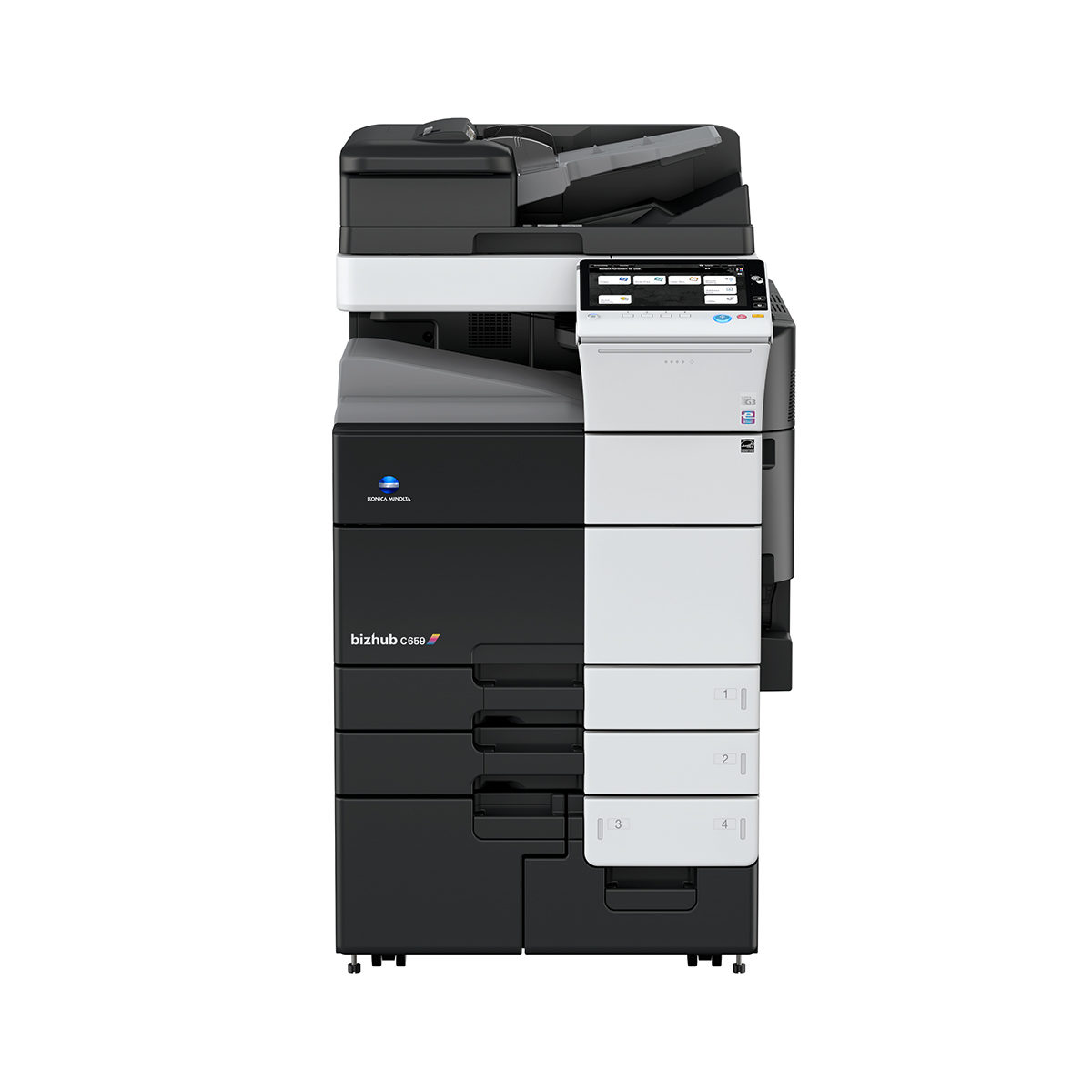 konica minolta bizhub c659 multifunction color copier 13