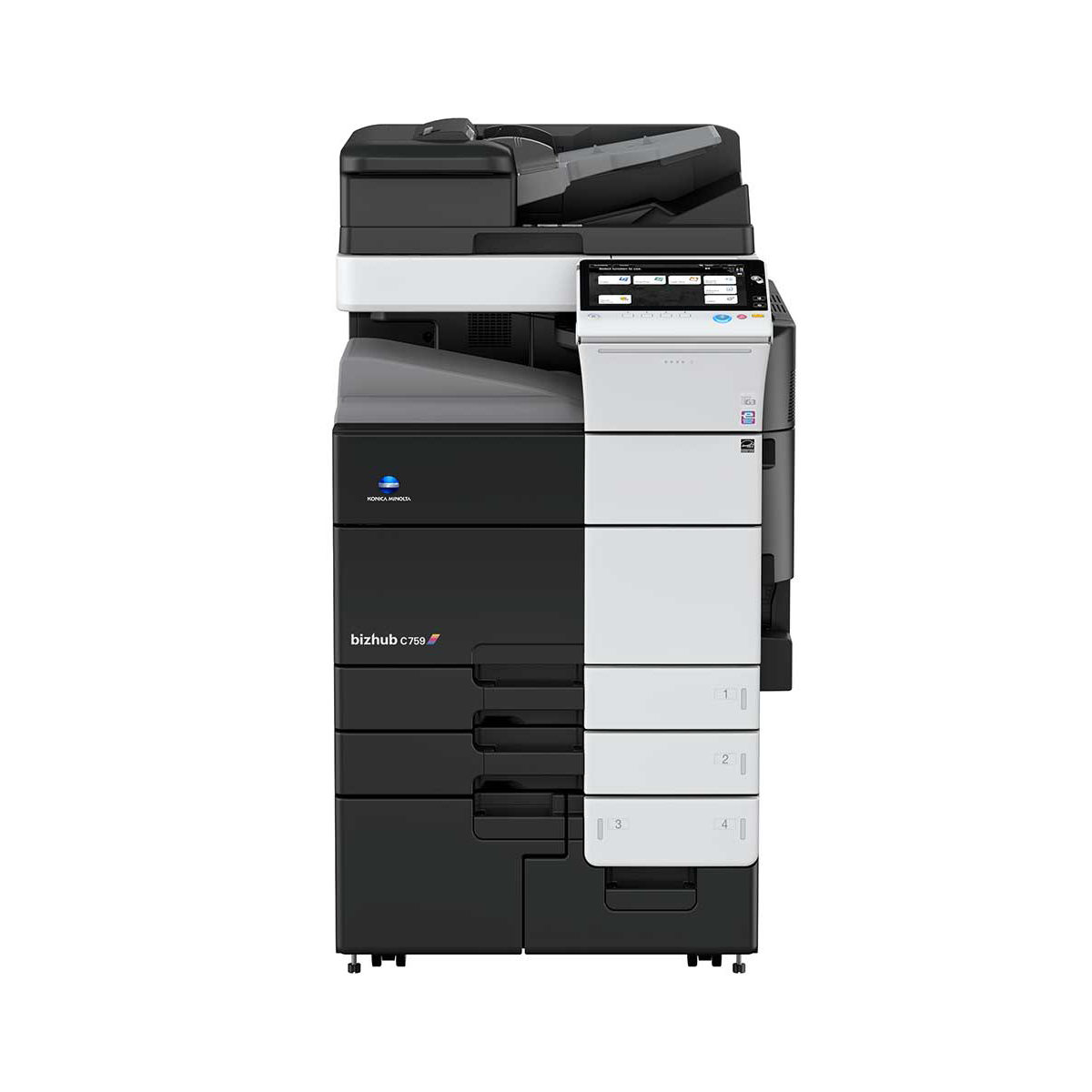 konica minolta bizhub c759 multifunction color copier 19